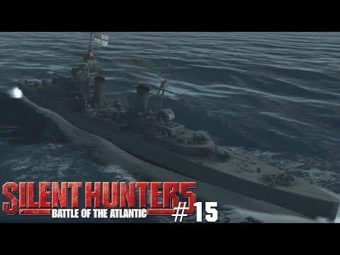 Let's Play Silent Hunter 5 #15 Großkampfschiff?! UNPASSEND!! [German; HD]
