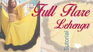 Full Flare Lehenga - Double circular - T...