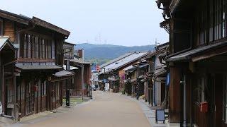 4K 岐阜 女城主の城下町 岩村 Iwamura,Gifu