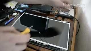 Ремонт ноутбука HP 2000 замена дисплея(Здравствуйте. Мой канал посвящен электронике, (компьютерной технике, радиоэлектронике, обзорам всяких..., 2015-11-27T13:40:56.000Z)