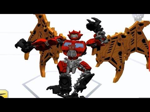 Transformers Construct Bot - Optimus Predaking Combined!