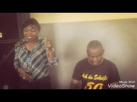 """Charlotte dipanda """"ndolo bukate """"cover by guilaine ft desiré Mola on the piano..."""