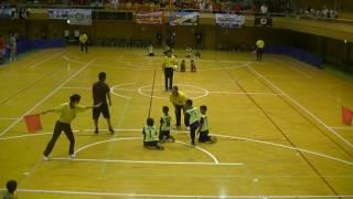 第11回ならコープカップ 予選1試合目 ソレオバンビーノ 2vs2 引き分け.