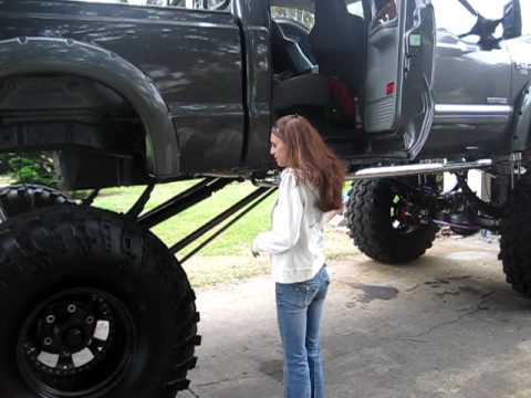 Lil Girl Big Damn Truck YouTube