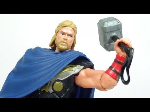 THOR The Dark World Battle Hammer Thor Figure Review