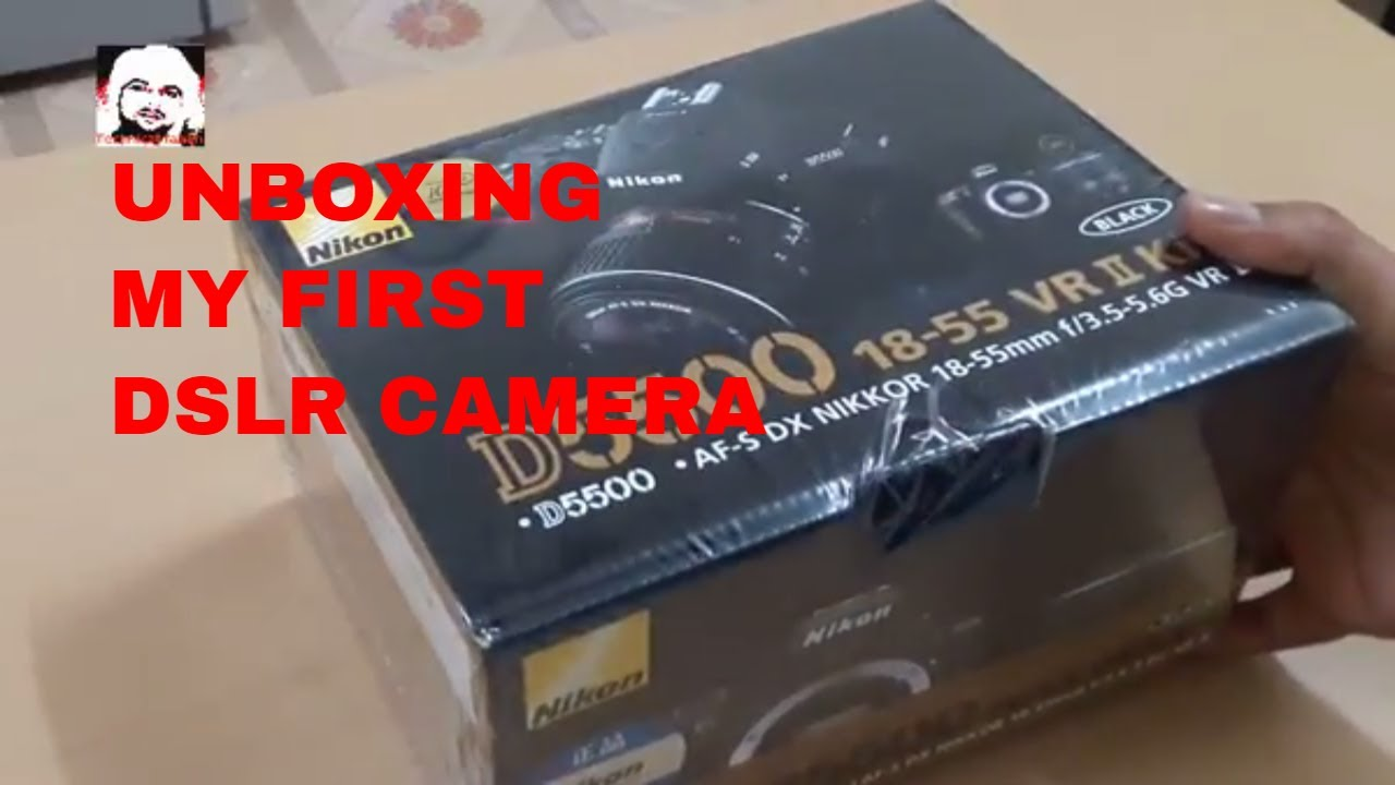 unboxing my first digital SLR camera buying in DUBAI