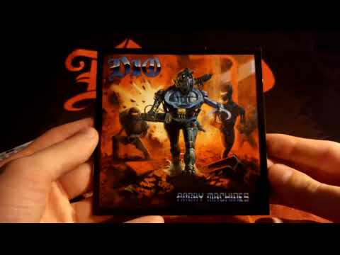 DIO Angry Machines (German CD Edition) Unpackaging mp3