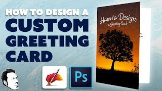 How to Make a Custom Greeting Card with Photoshop & Corel Painter