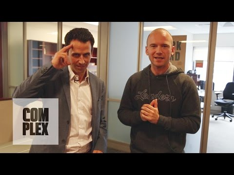 Part 2: Mentalist Oz Pearlman Freaks Employees Out at Complex Media HQ