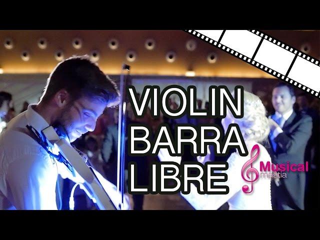 Violin Barra Libre - Titanium