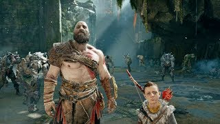GOD OF WAR 4 -  EARLY 4K Gameplay Walkthrough Part 1 Kratos New Gear & Armor Showcase (PS4 Pro 2018)