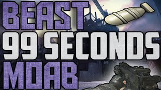 COD Mw3: SICK 99 Seconds FFA MOAB on Hardhat! ( Call of Duty: Modern Warfare 3 PC)