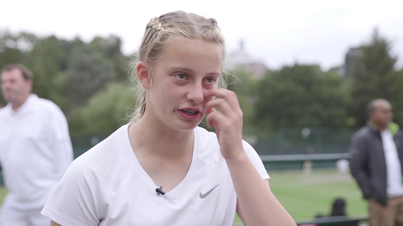 Road to Wimbledon Finals: County Girls' Singles Champion Charlotte Clarke