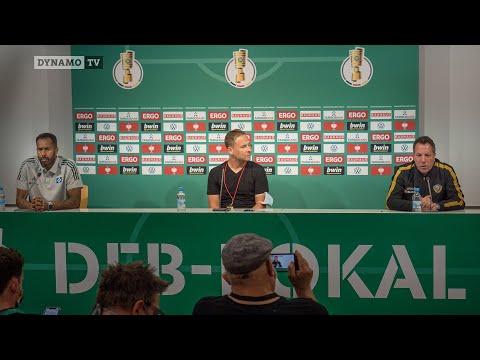 1. Runde DFB-Pokal | SGD - HSV | Pressekonferenz nach dem Spiel