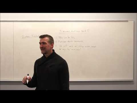 General Relativity Topic 5: Index Notation and a Pinch of Vectors