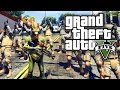 GTA 5 MODS - ALIEN ARMY INVASION! (GTA 5 PC Mods)
