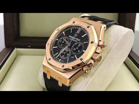 AP Royal Oak Chrono Luxury Watch in Rose Gold