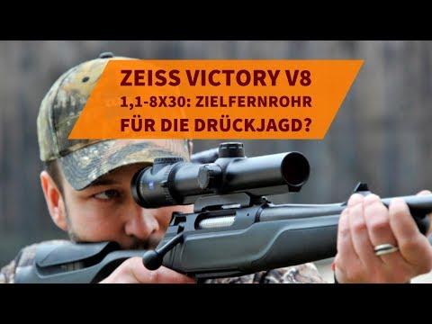 Zeiss victory v8 1 1 8x30: wie gut ist das zielfernrohr für die