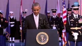 Безмолвная речь Обамы.