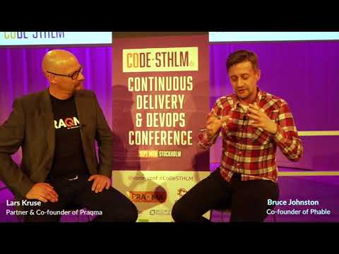 Interview with Bruce Johnston - CoDe Conference Stockholm