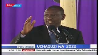 Ruto asema kuwa maafikiano kati ya Raila na Uhuru hayafai kuwa nguzo ya siasa ya uchaguzi wa 2022