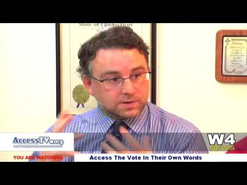 W4 News – Access The Vote – In Their Own Words – Josh Blanchfield and Levey L. Kardulis – 10/21/2015