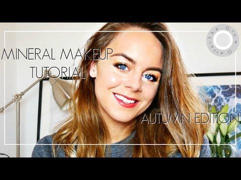 Autumn Mineral Makeup / Natural & Organic Makeup Tutorial