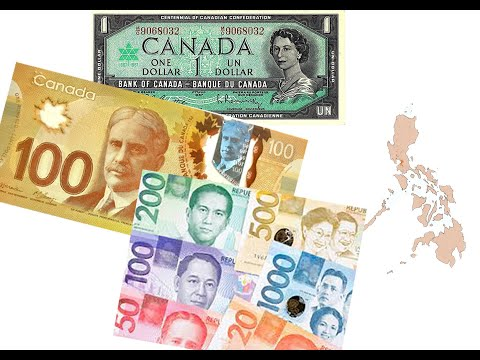 Philippine Peso Vs. Canadian Dollar