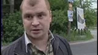 Томск. Пьяный сотрудник ГИБДД убил водителя.