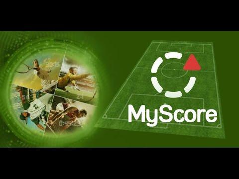 Спортивные результаты на сайте Myscore