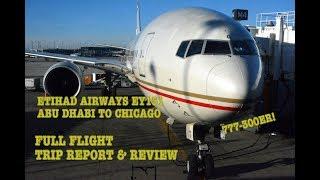 #62: ULTRA LONG HAUL | Etihad EY151 | Abu Dhabi (AUH) - Chicago (ORD) | Full flight trip report