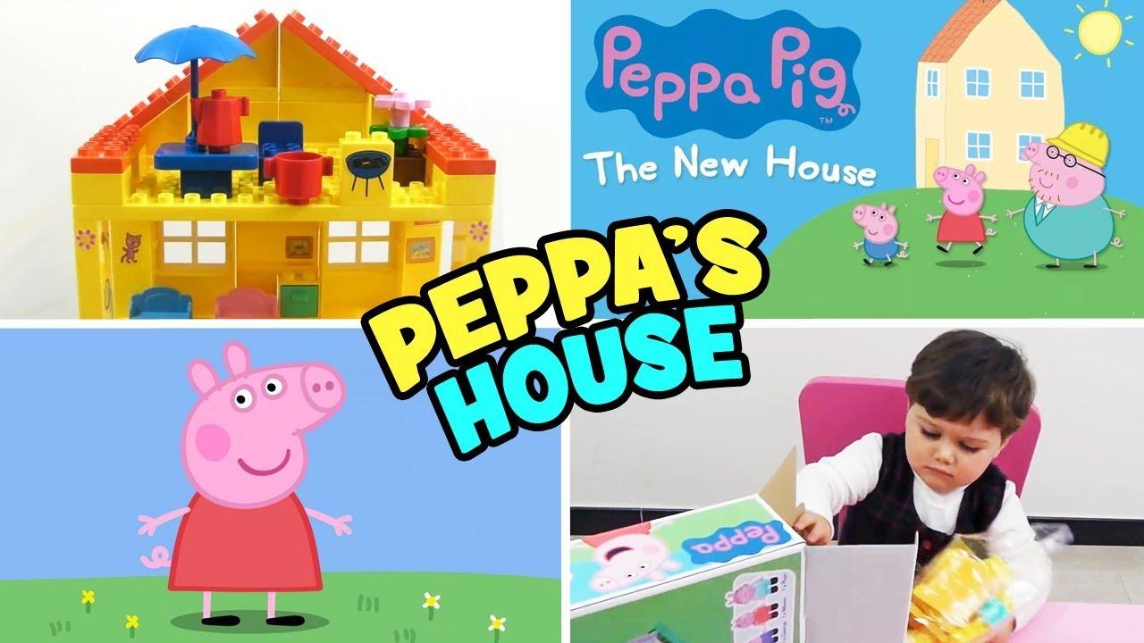 the latest e9577 fcdf9 Peppa Pig ⭐ Peppa's House - TOYS