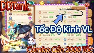 Garena DDTank:Combo 2000 Tốc Độ Sẽ Kinh Khủng Như Thế Nào?Best Cướp Turn Cân Team Lật Kèo