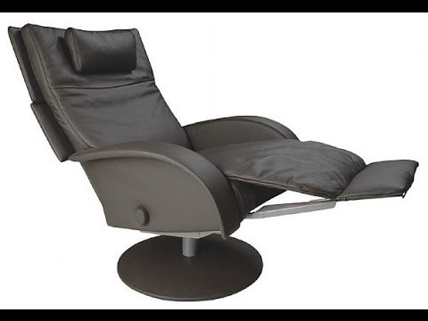 sc 1 st  YouTube & Swivel Recliner Chairs with Footstool Black - YouTube islam-shia.org