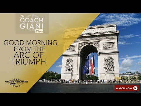 Good Morning From The Arc Of Triumph