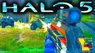 HALO 5 GAMEPLAY | WARZONE ASSAULT on Array (Halo 5 Guardians Gameplay)
