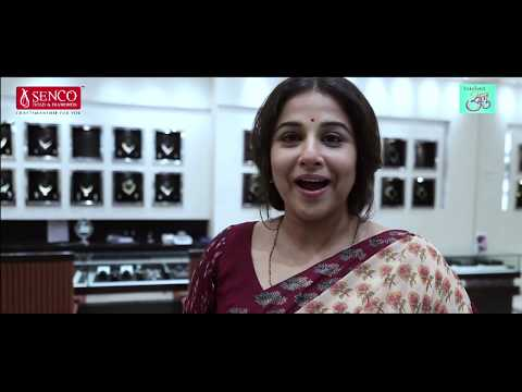 Vidya Balan shoots at Senco Andheri for Tumhari Sulu