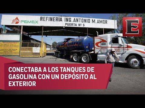 Descubren toma clandestina de combustible en refinería de S
