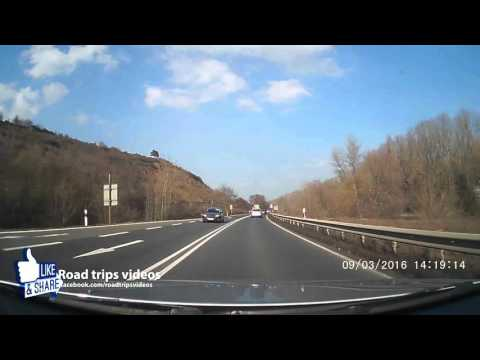 ROAD TRIP: From Nierstein to Frankfurt am Main / Germany / Dashcam / Autocam