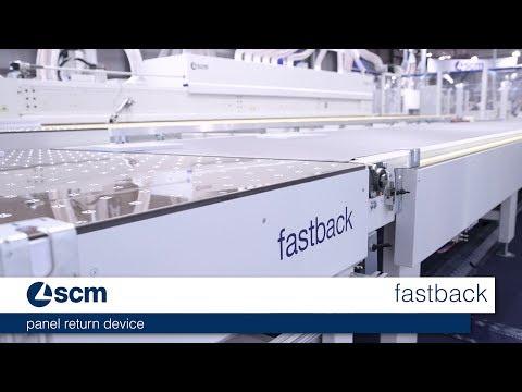 scm fastback - panel return device