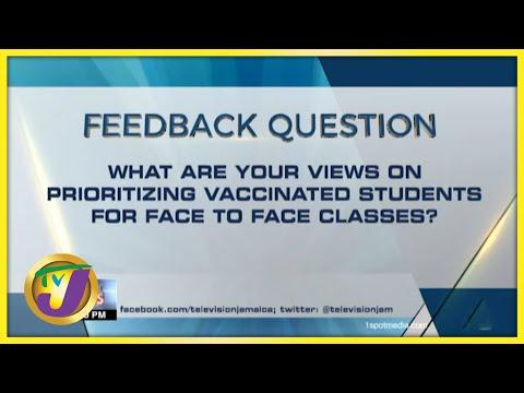 Feedback Question   TVJ News - August 26 2021