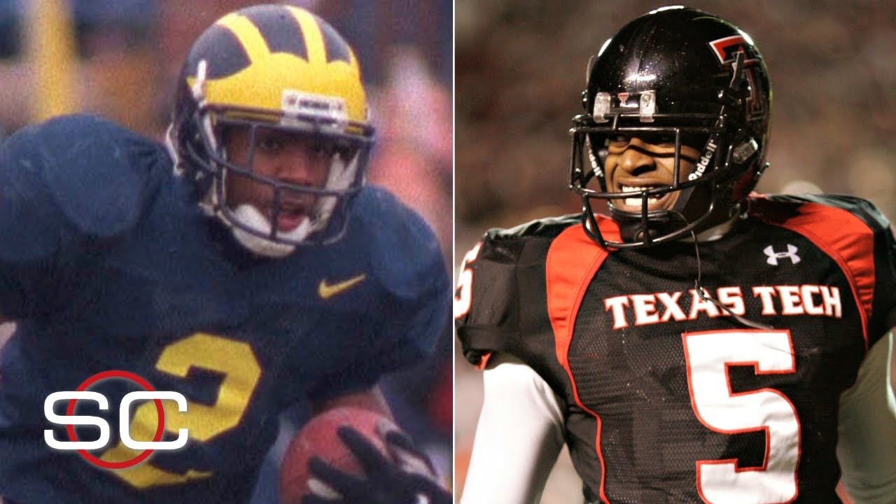 Michael Crabtree's TD, Charles Woodson's INT among college football's best catches |