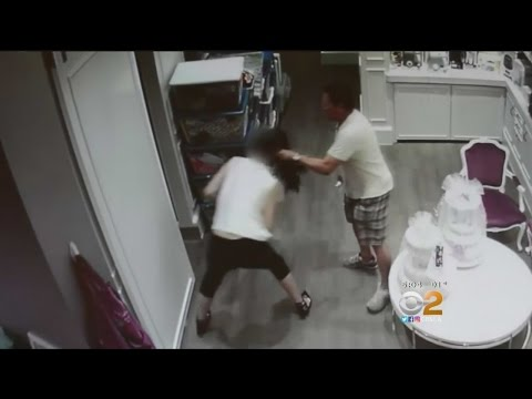 Man Caught On Camera Trying To Drag Irvine Store Employee Into Storage Room