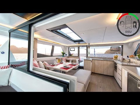 #13 Catamaran Enclosures, Underfloor Storage and BBQ   Sailing Sisu in Cape Town South Africa