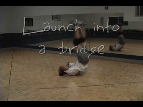 Breakdancing Kip Up Tutorial