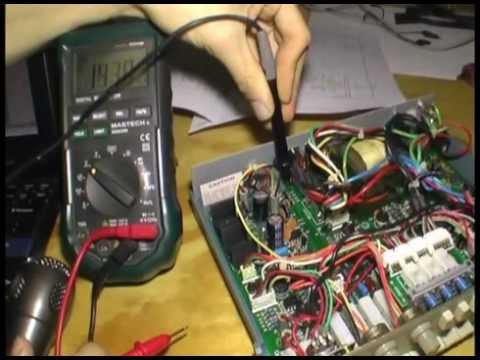 CFG250 Fuction Generator Repair Part 1