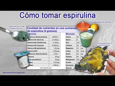 Cómo Tomar Spirulina, Beneficiosa Para El Organismo