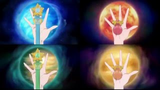Sailor Moon Crystal S3 Inner Senshi Group Transformation (FANMADE)