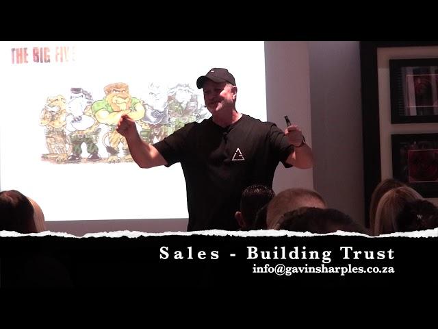 Sales : Building Trust