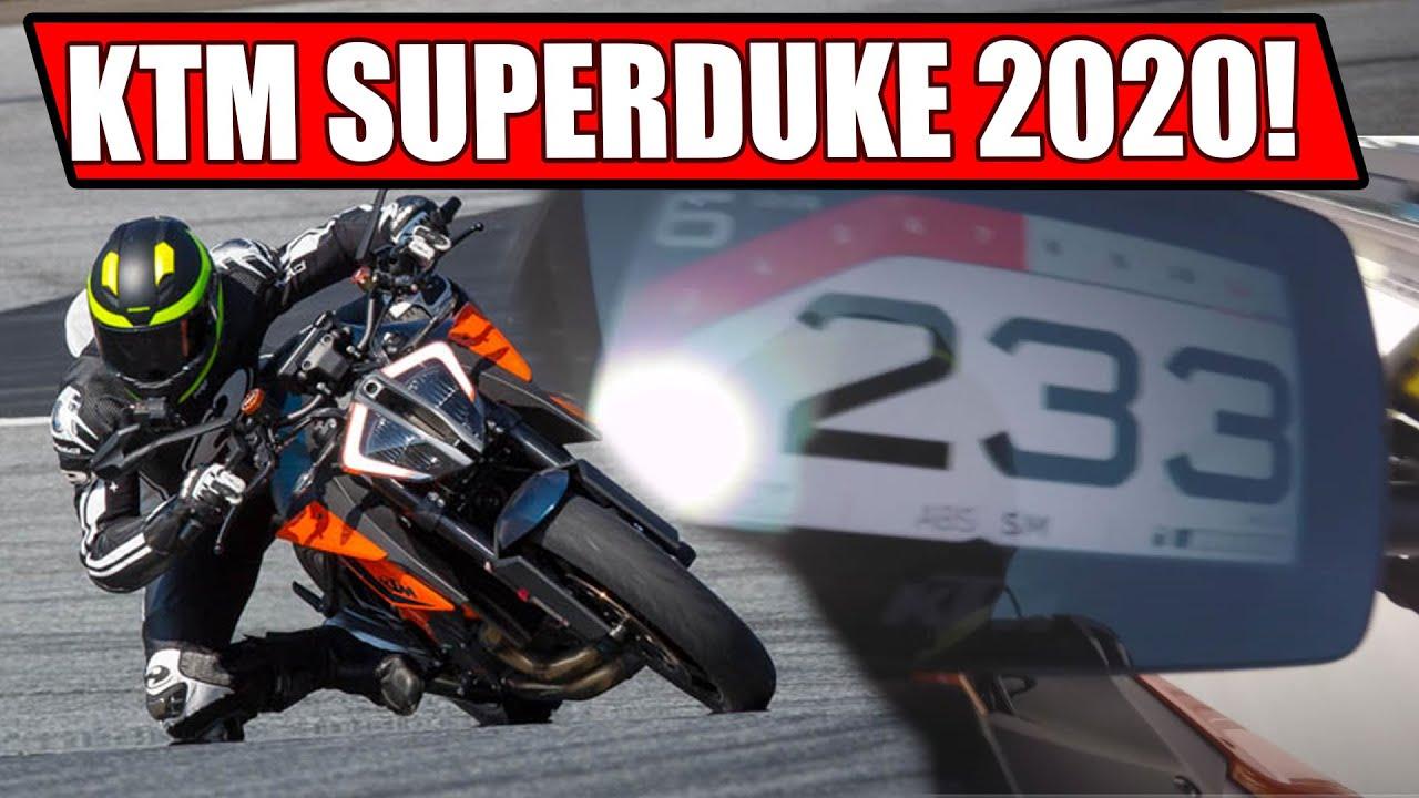 KTM 1290 SUPER DUKE R 2020 RENNSTRECKEN TEST!